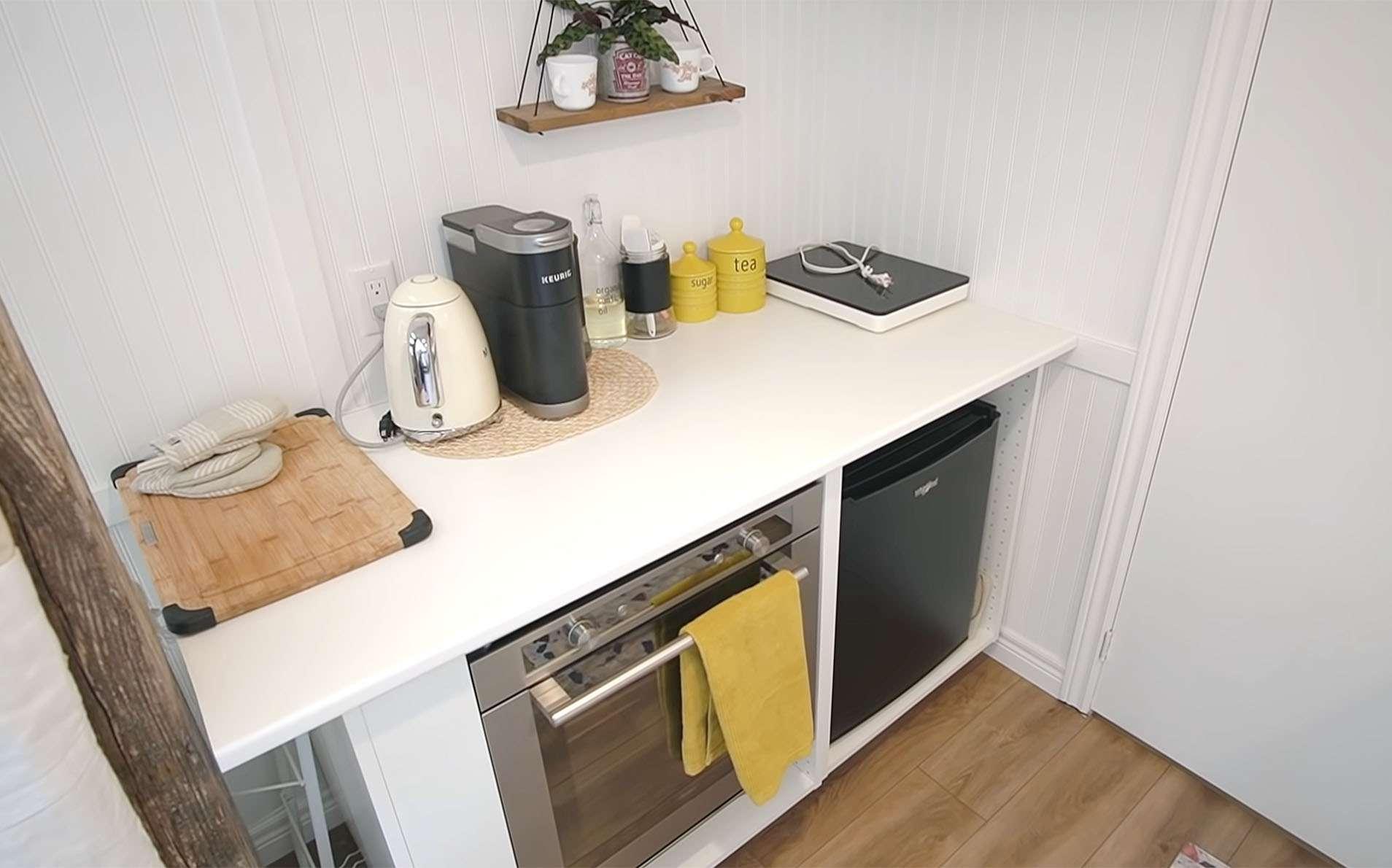 tiny home big farm kitchen