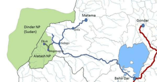 map of Alatash National Park