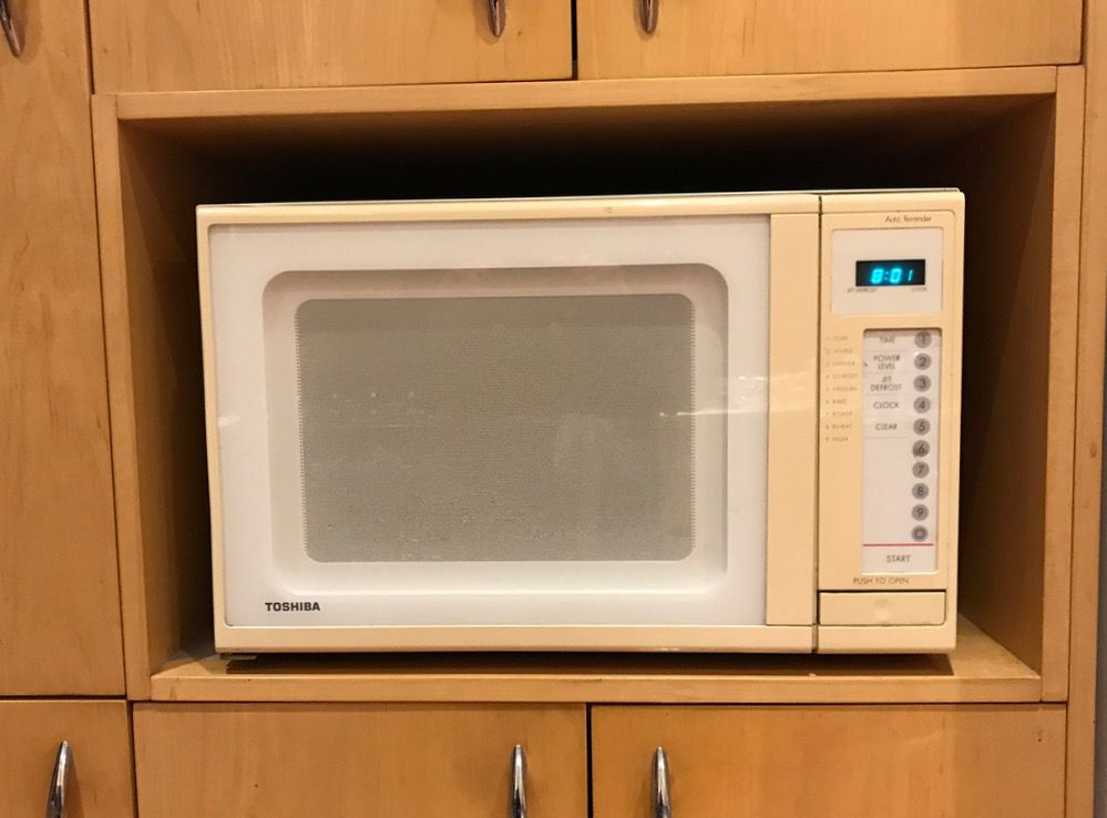 our microwave