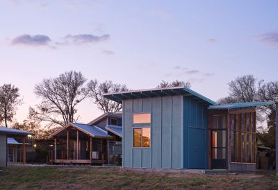 Micro House 2 by McKinney York Architects exterior