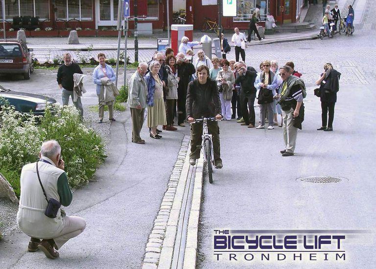 Muchas ciudades podrían usar un ciclocable Trampe