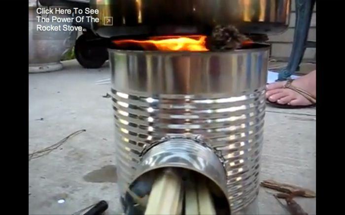 rocket stove image