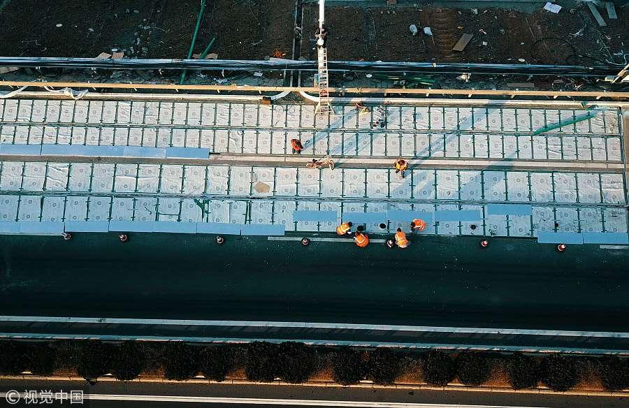building solar roadway