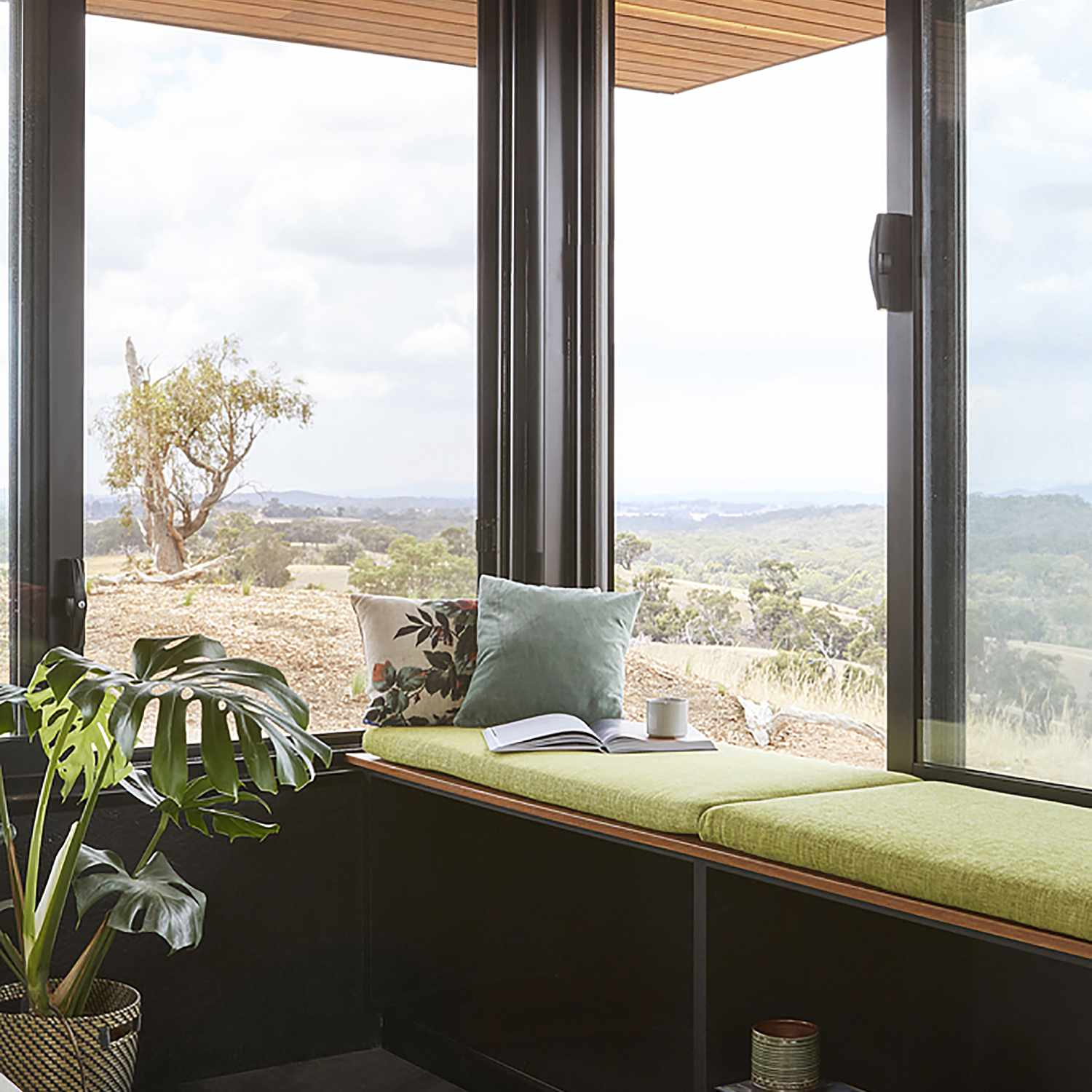 Elemental House by Ben Callery Architects bench