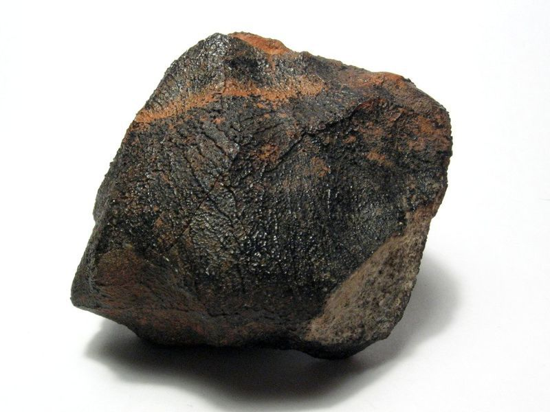 A eucrite meteorite, originating from Vesta, that fell during a meteor shower over Australia in 1960.
