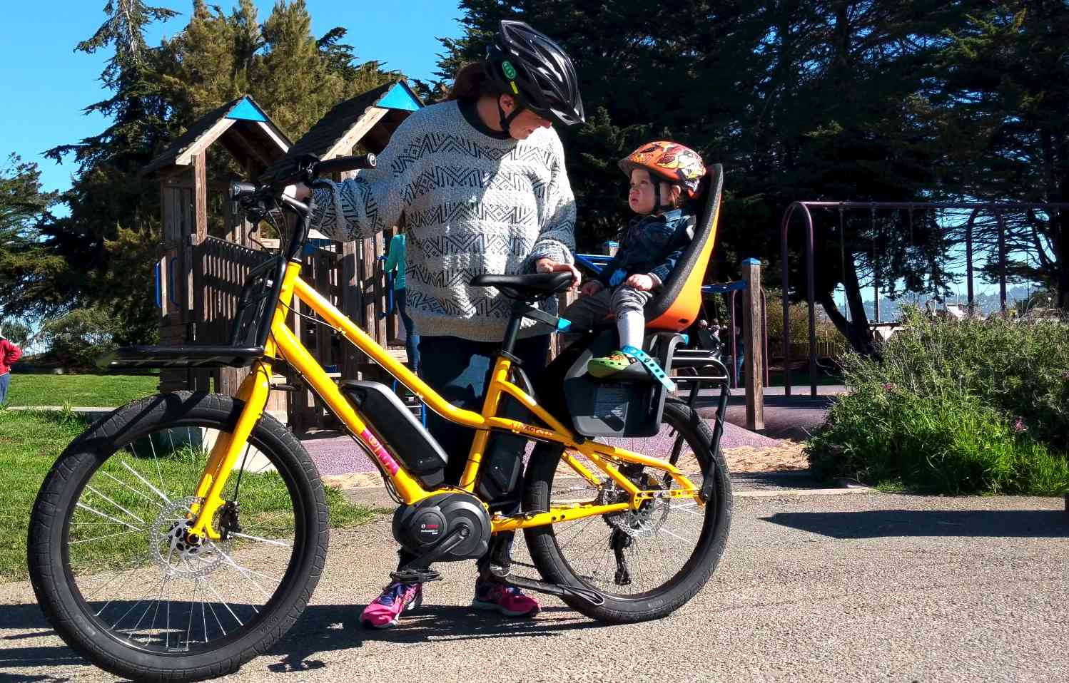 xtracycle set up for kids