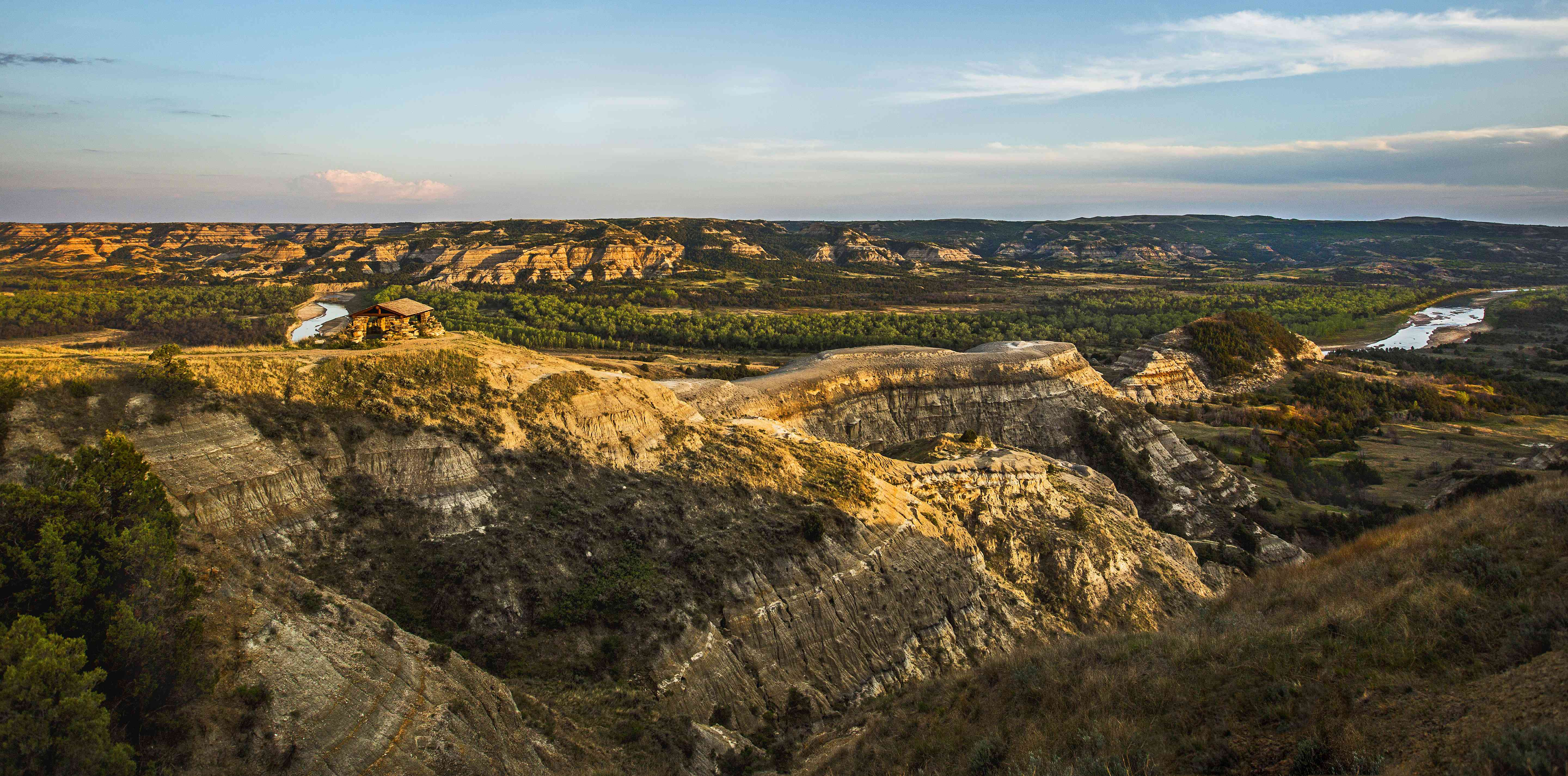 River Bend Outlook, Theodore Roosevelt National Park