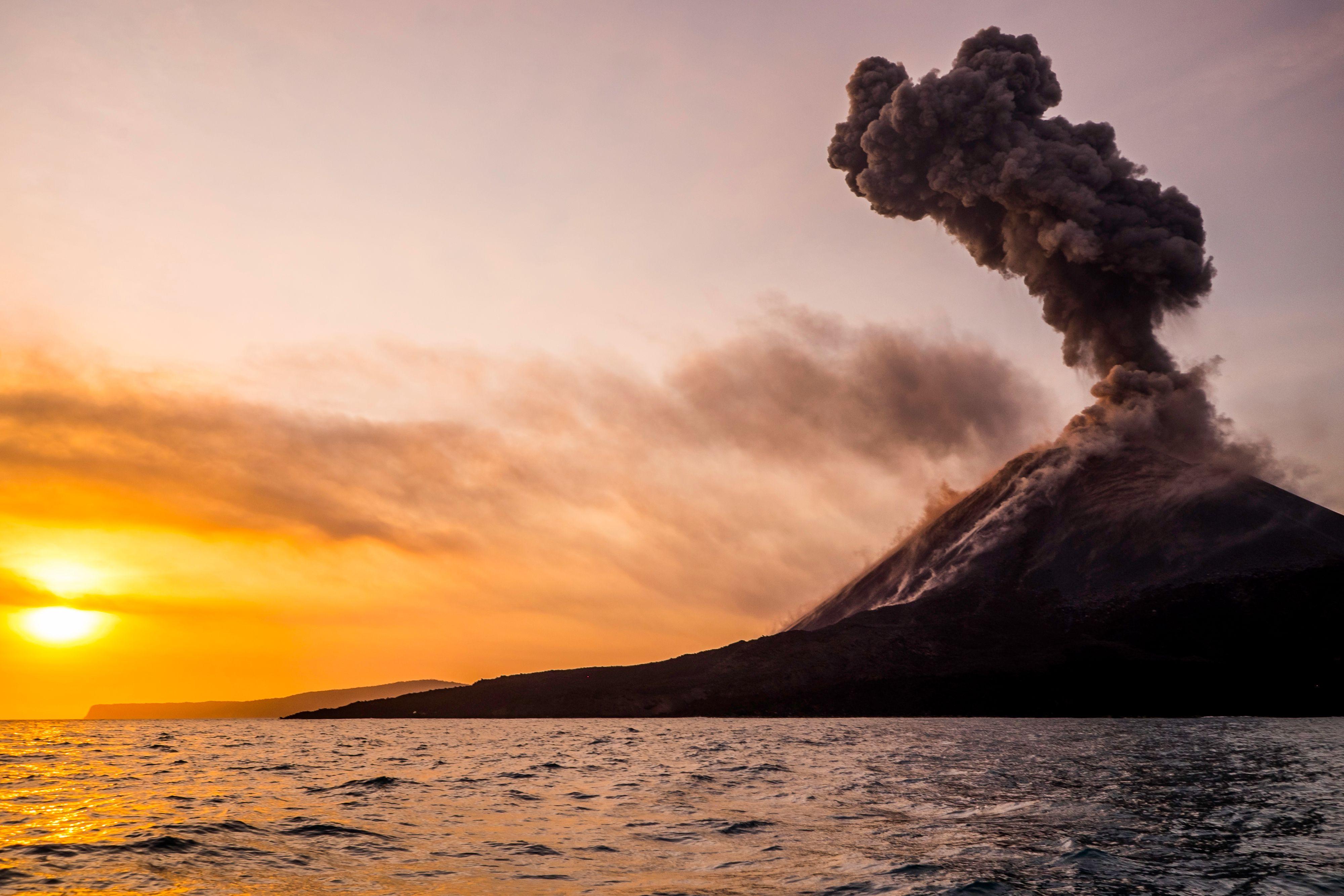 Fatal Eruption Triggered a 'Volcanic Freeze'