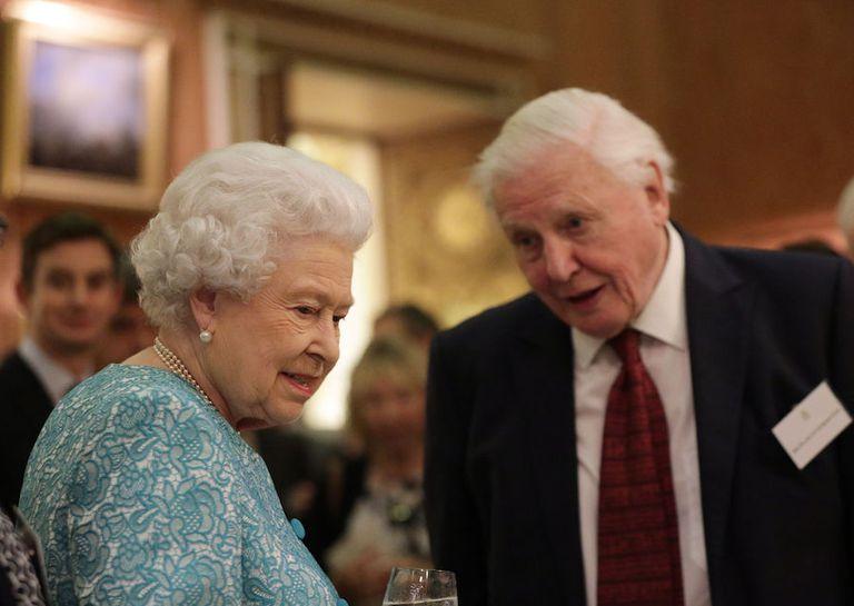 Queen Elizabeth II, David Attenborough