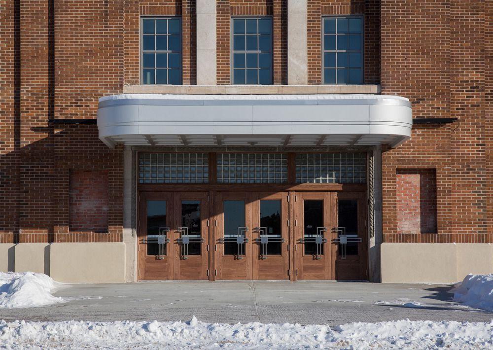 Restored entrance