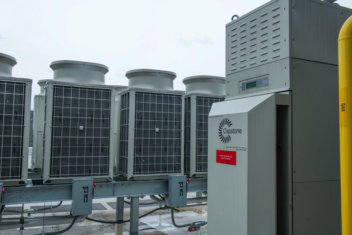 Cogeneration equipment