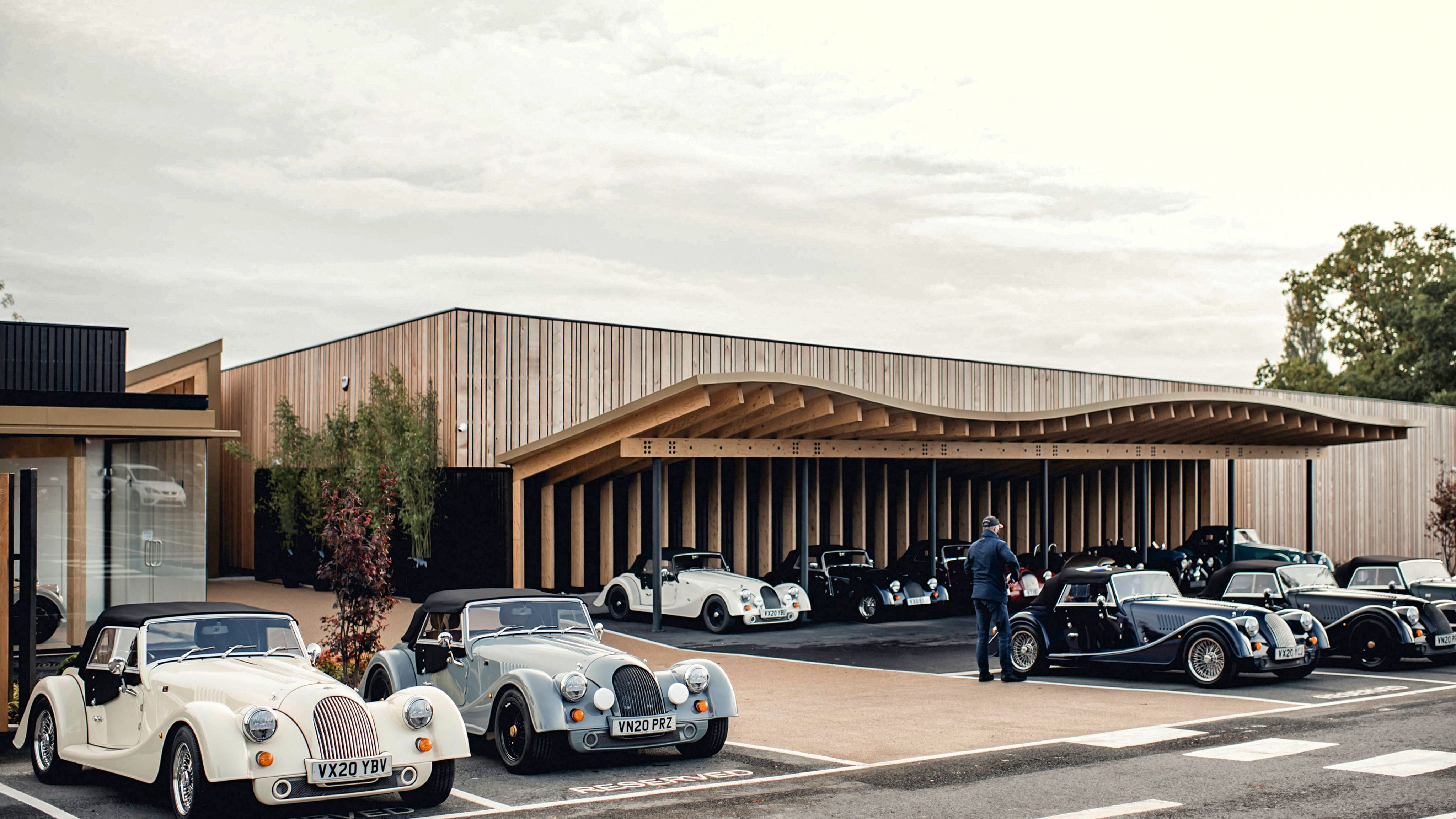 Morgan Motor Gets A Makeover In Malvern We carry a full line of quality new vehicles as well as used cars. morgan motor gets a makeover in malvern