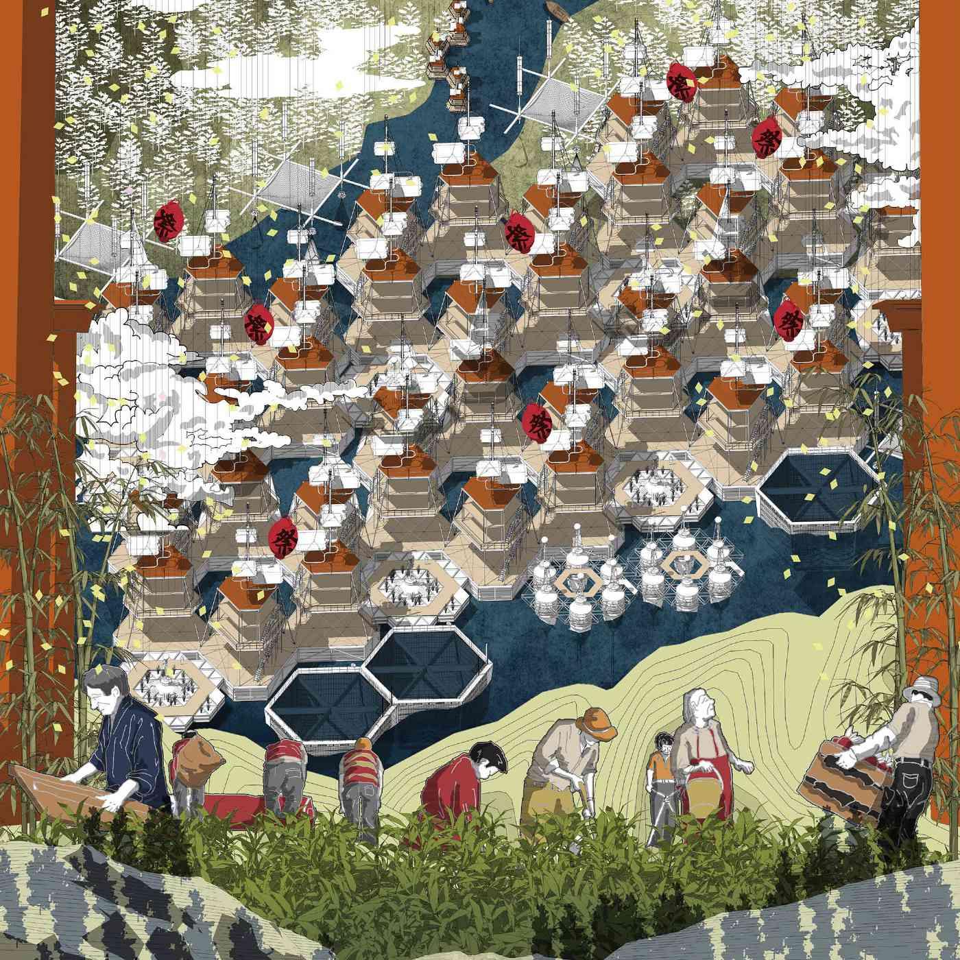 """""""NOSTALGIA UTOPIA"""" by Jiawei Liang, Tao Hong (China)"""