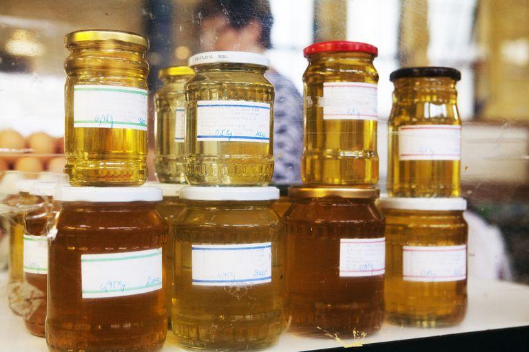 jars of honey