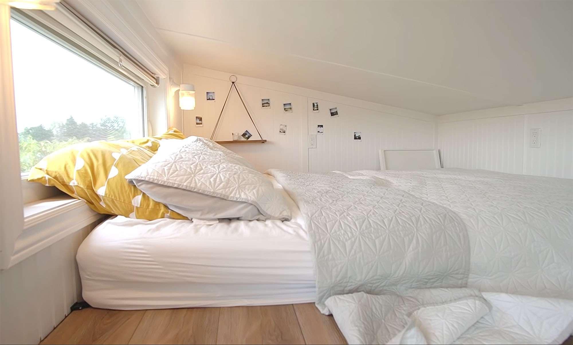 tiny home big farm bed loft