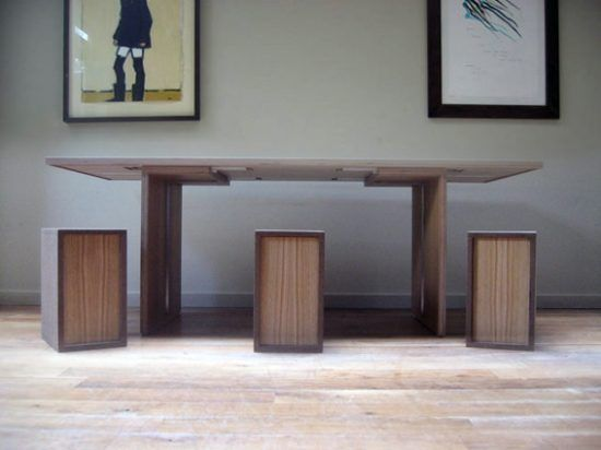 Flipfurniture convertible dining table