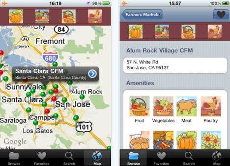 farmers market finder app image
