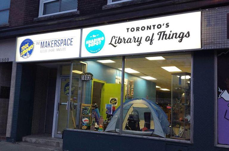 La primera 'biblioteca de cosas' de Canadá abre en Toronto