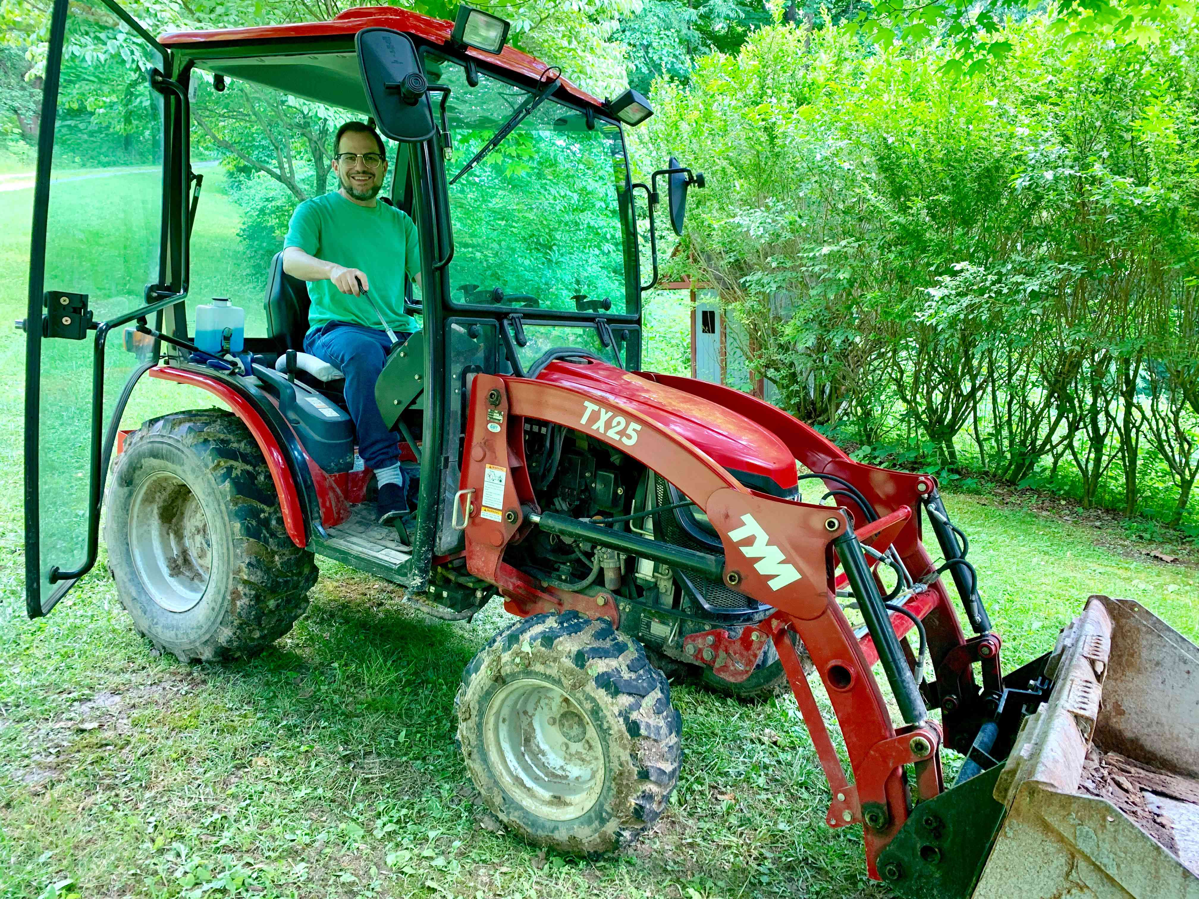 Three months ago, I had no clue what that the TX25 Subcompact Tractor Front-End Loader even existed. Now I'm driving one.