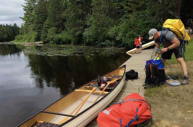 canoe trip prep
