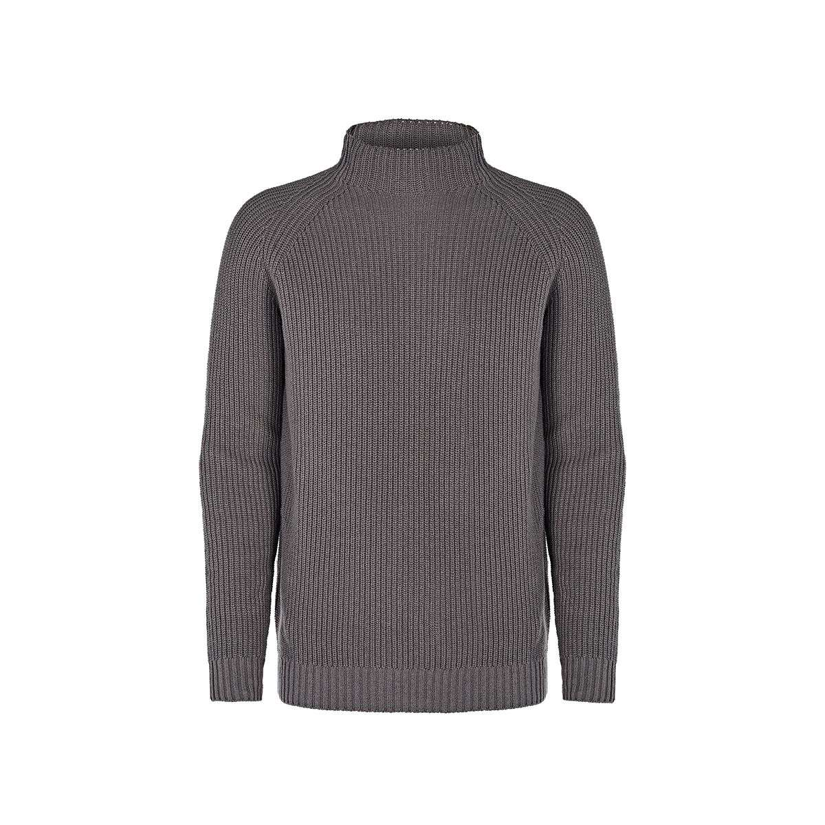 Will's Vegan Store Recycled Slouch Knit Mockneck