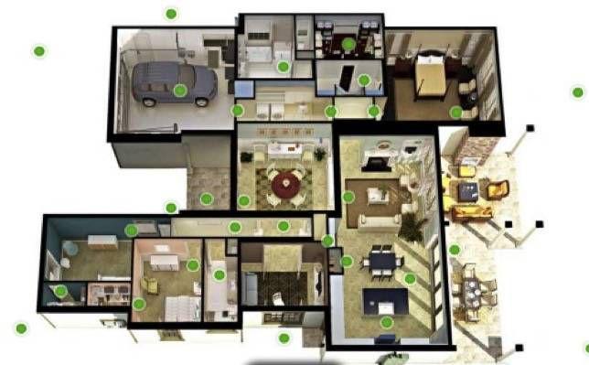 Home layout lacks windows for cross-ventilation