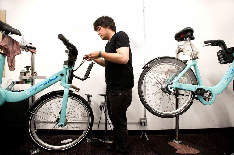 Bay Area Bike Share preparándose para su lanzamiento en San Francisco el 29 de agosto