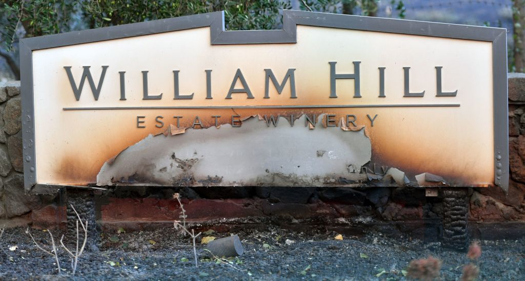 William Hill Estate Winery sign