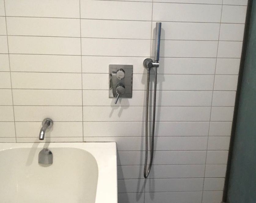 Lloyd's bathroom