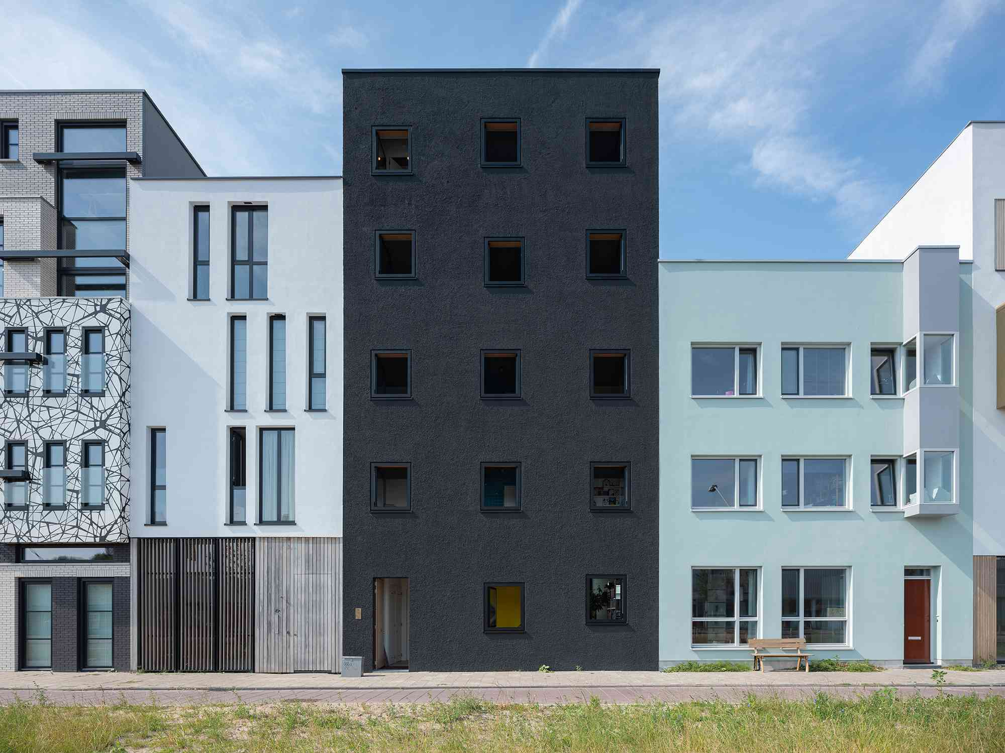 Three Generation House by BETA front facade