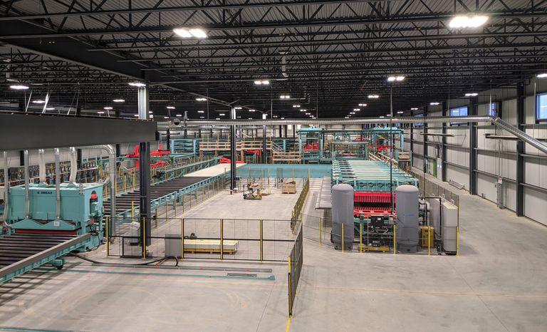 Inside CLT factory
