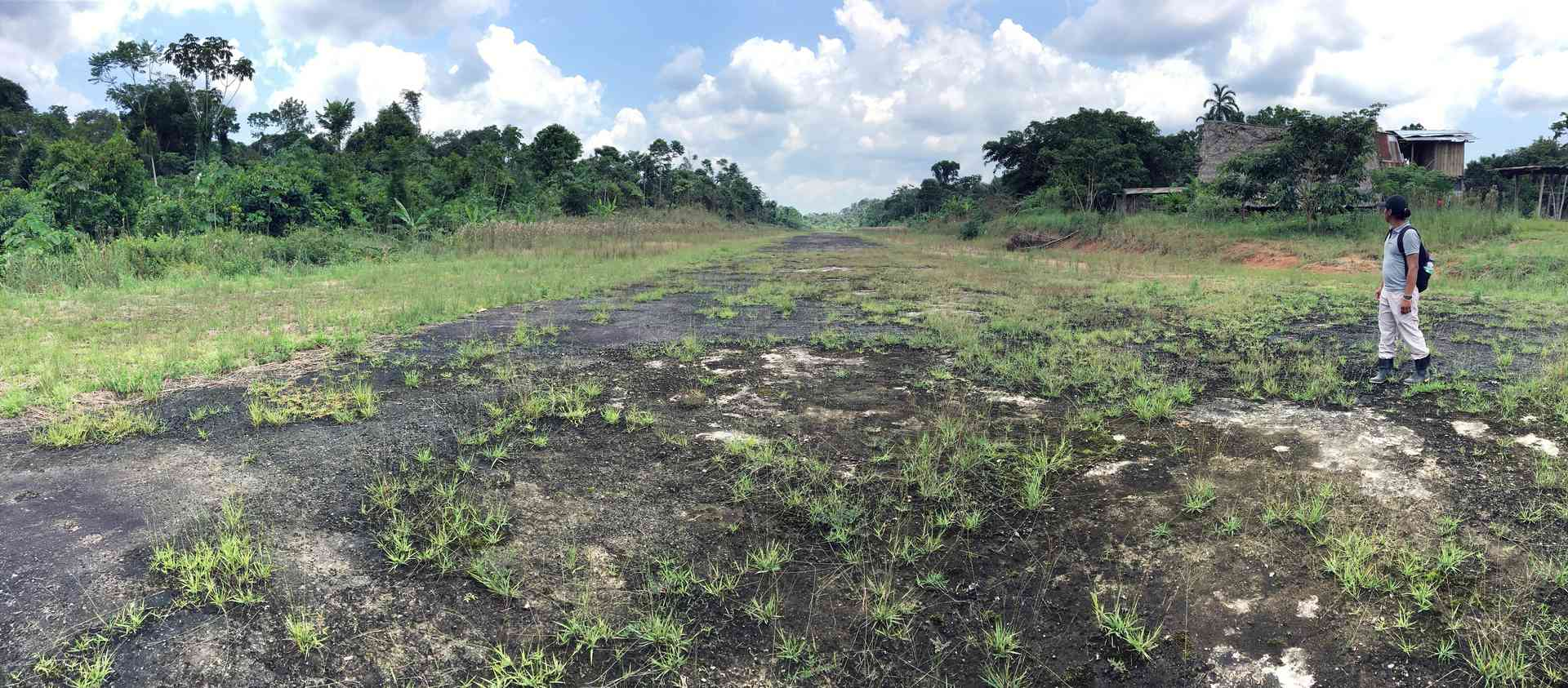 road built by oil companies into the Amazon