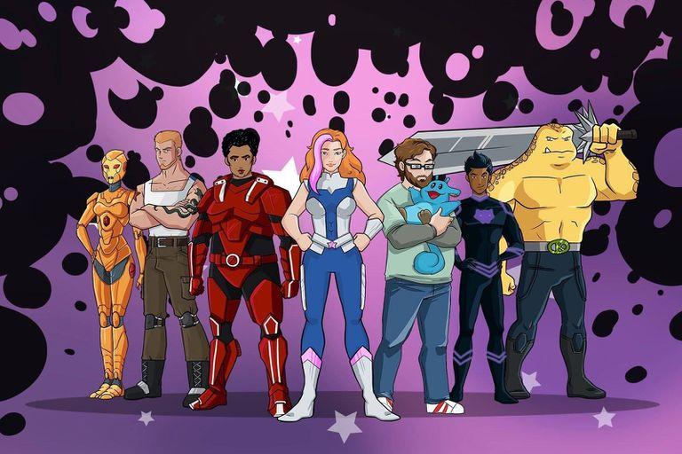 Spooniverse superheroes