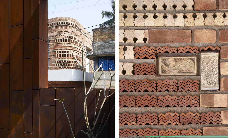 gallery house abin design studio bricks