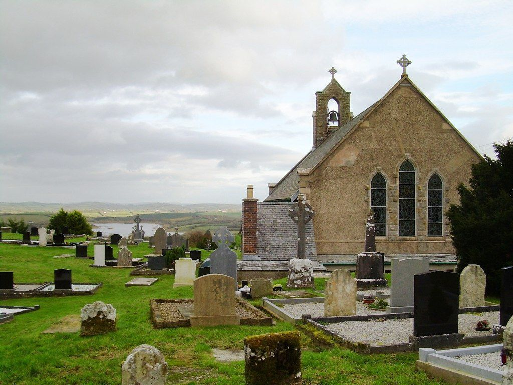 Dirt from this old Irish church really does have healing properties