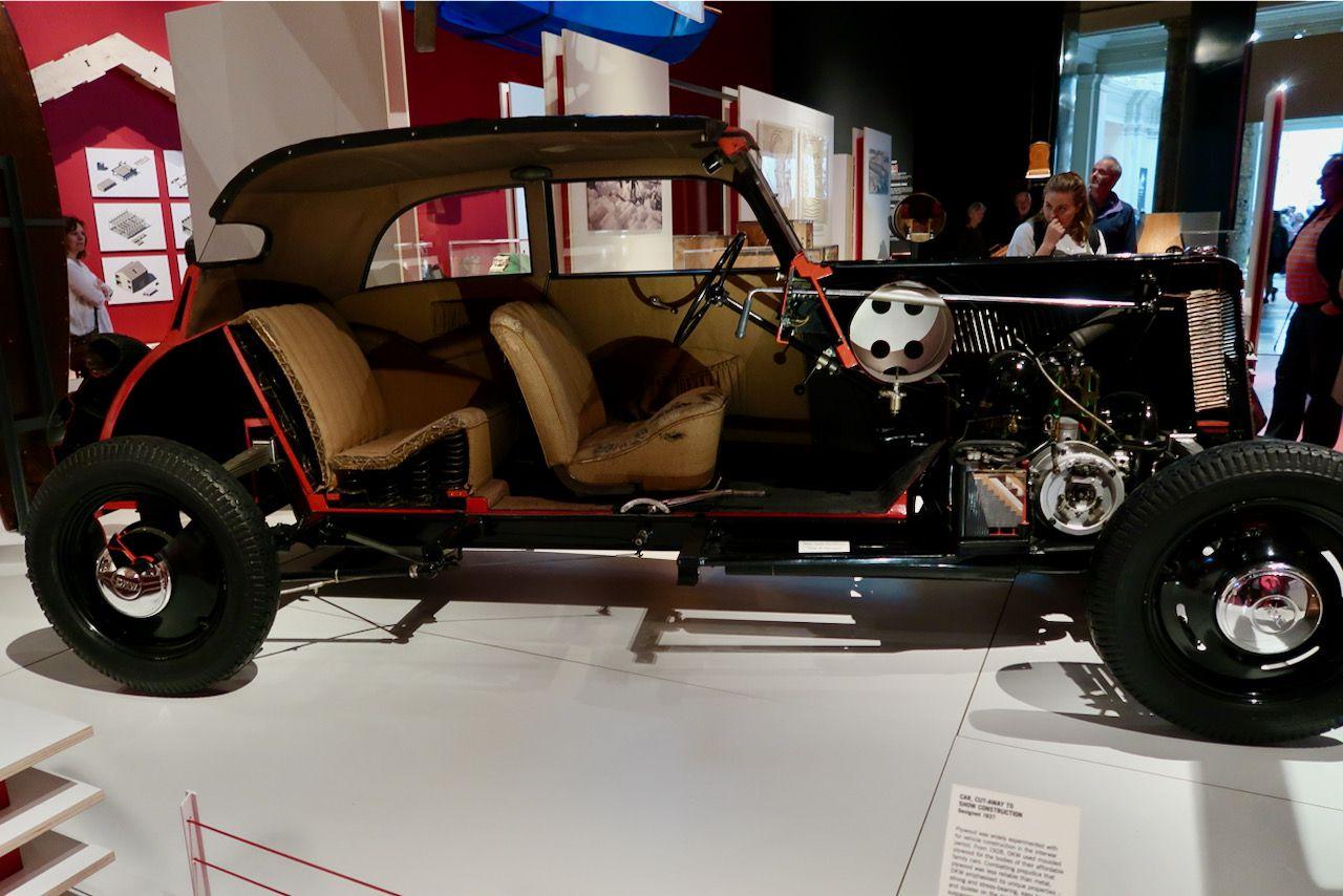 DKW Wooden car