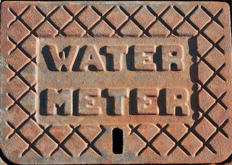water meter cover photo