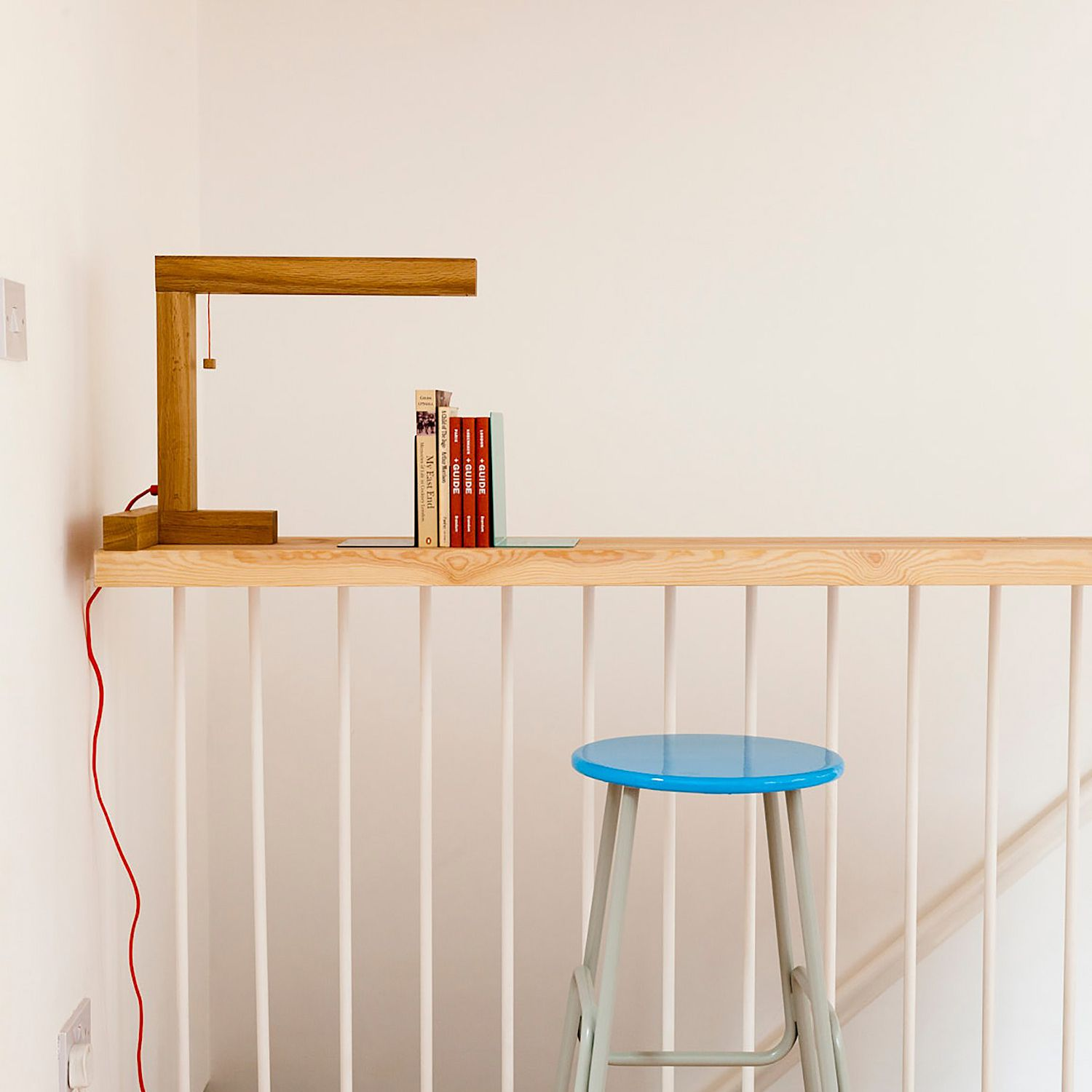 Small Townhouse Studiomama stair reading space