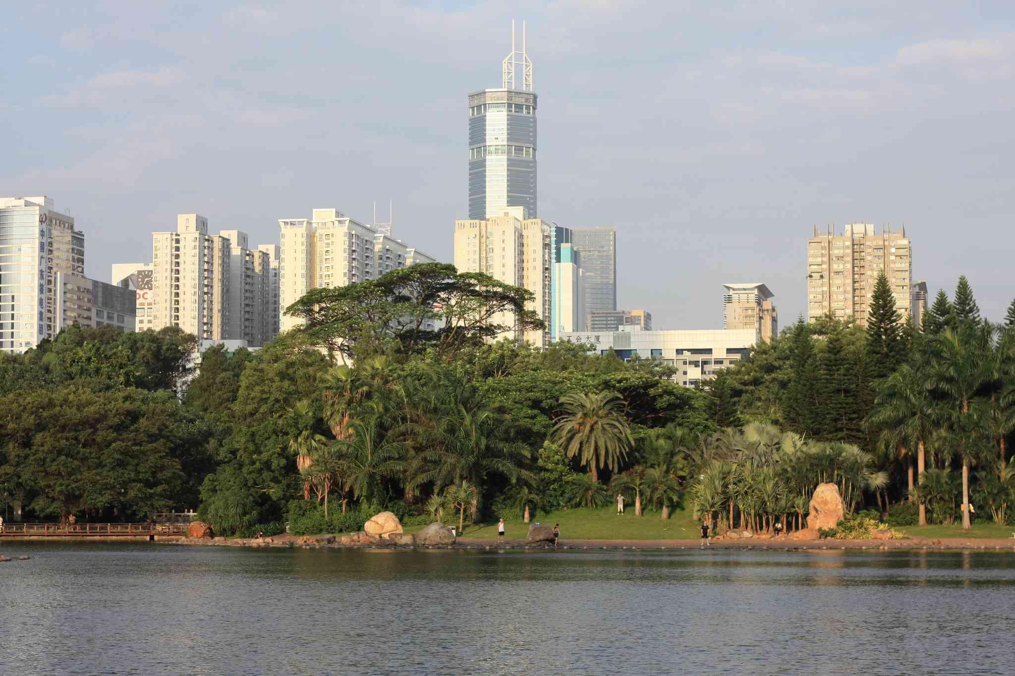 Lizhi Park in Shenzhen, China