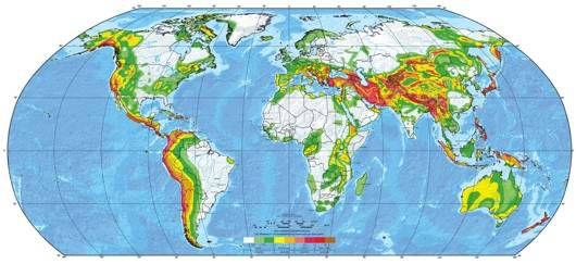 global earthquake risk