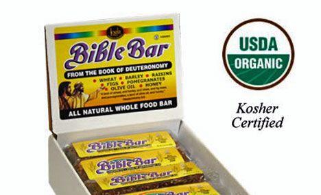 Kosher organic Bible Bar in box photo