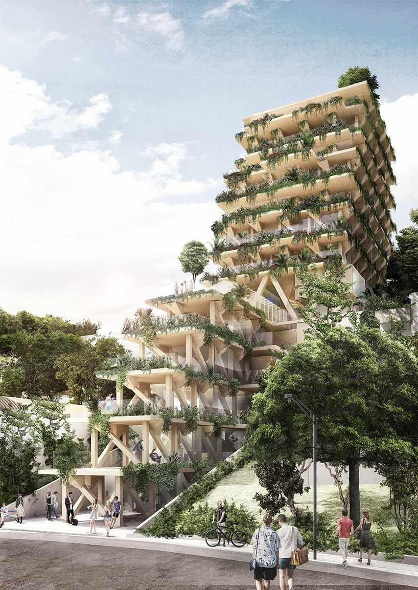 Amata Triptyque building
