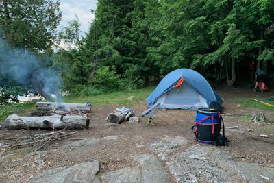 backcountry camping in Algonquin Park