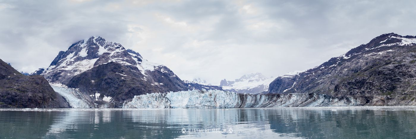 The Johns Hopkins glacier in Alaska is a tidewater glacier.