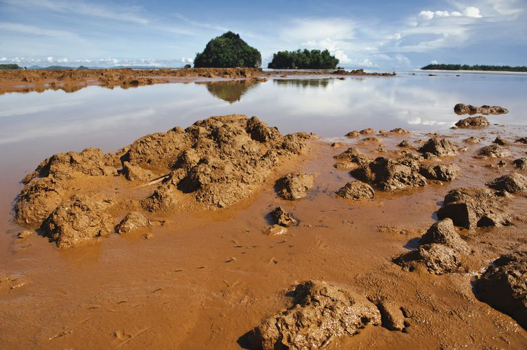Mining siltation in the Philippines