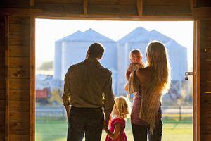 Small farm family