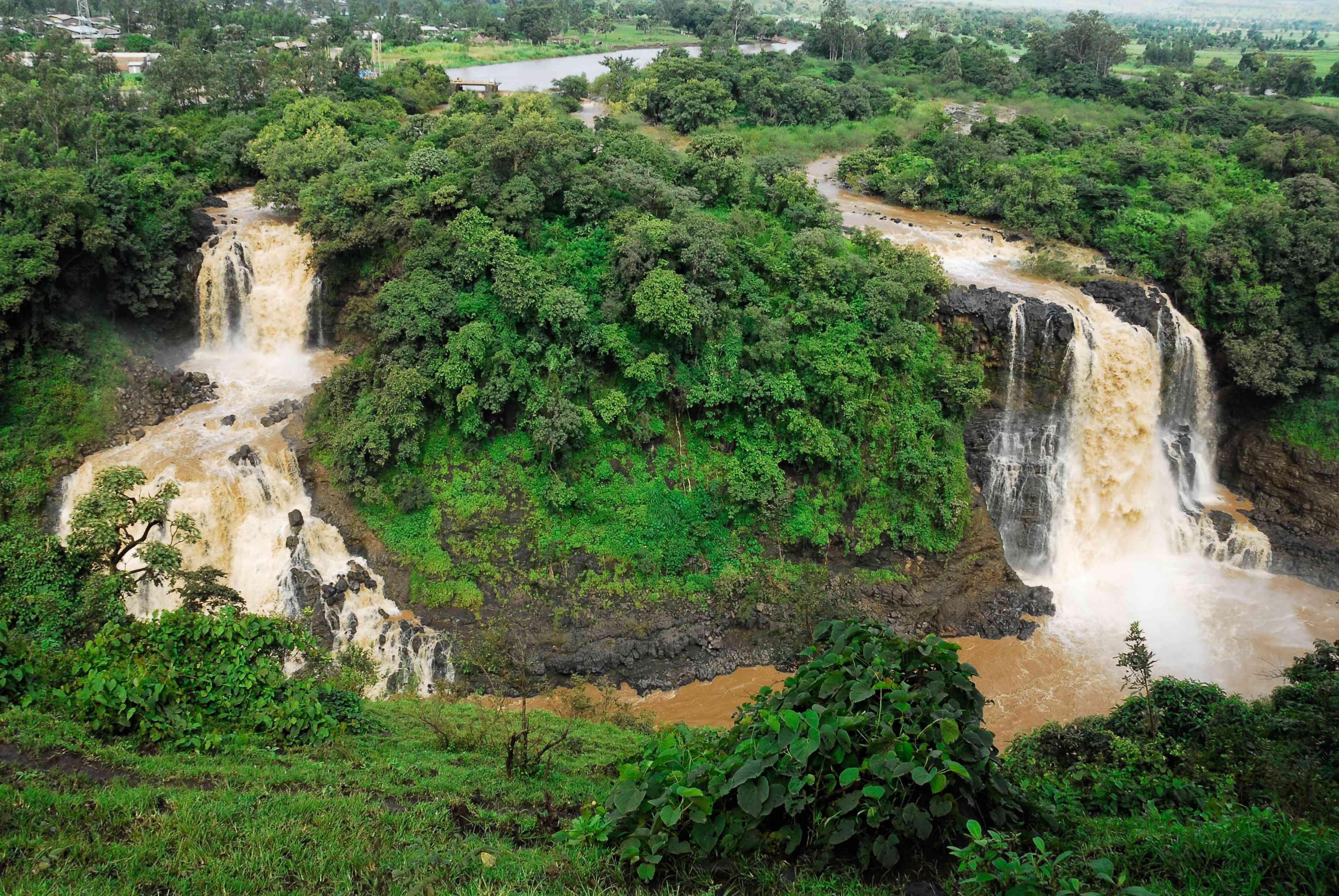 Tis Abay, or Blue Nile Falls, in Ethiopia