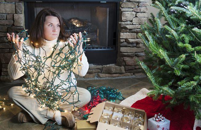 Cómo almacenar las decoraciones navideñas