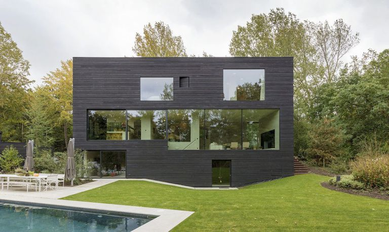 Why Are So Many Modern Houses Black?