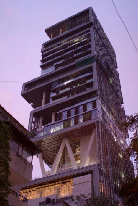 mukesh ambani mansion mumbai photo